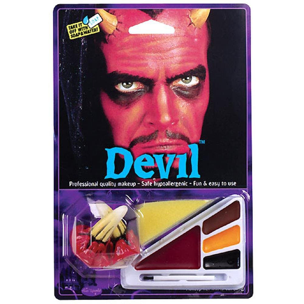 Costume Devil Make Up Kit