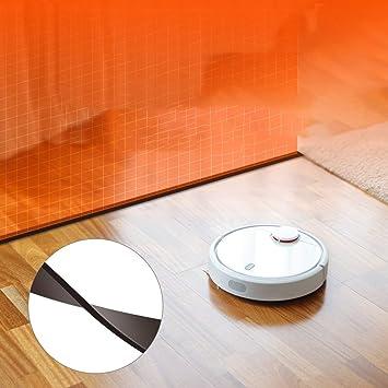 Lorenlli Reemplazo Protector de la Cinta de la Barrera del vacío del Robot Xiaomi Apta 2 Metros para Las Piezas del Aspirador del Robot MI: Amazon.es: Hogar