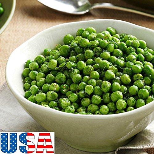 25 Seeds USA Seller Tom Thumb Garden Pea 25-200 Seeds Heirloom Non GMO (Tom Thumb Pea Seeds)