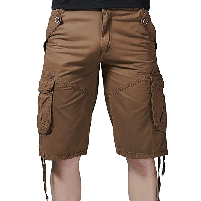 SANFASHION Herren Shorts Pantalón Corto - Relaxed - para ...