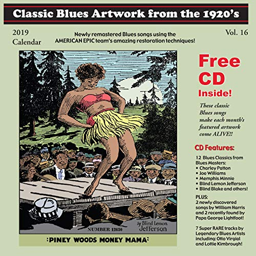 Classic Blues Artwork From The 1920s Calendar (2019)