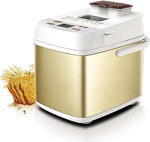 FACAI Programmable Breadmakers Machine, Multifunctional Bread Maker Machine 750G Capacity Automatic Bread Maker Breakfast Machine for Beginners Home Cake Bread Dough