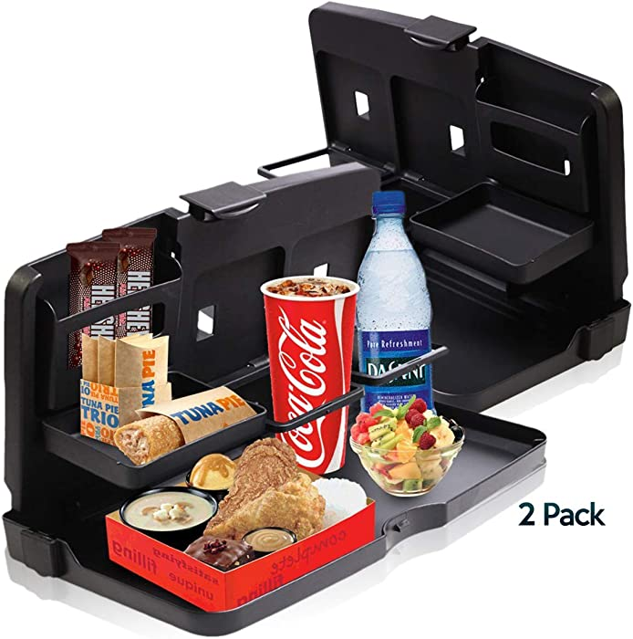 The Best Black Car Food Snack Tray Zonetech