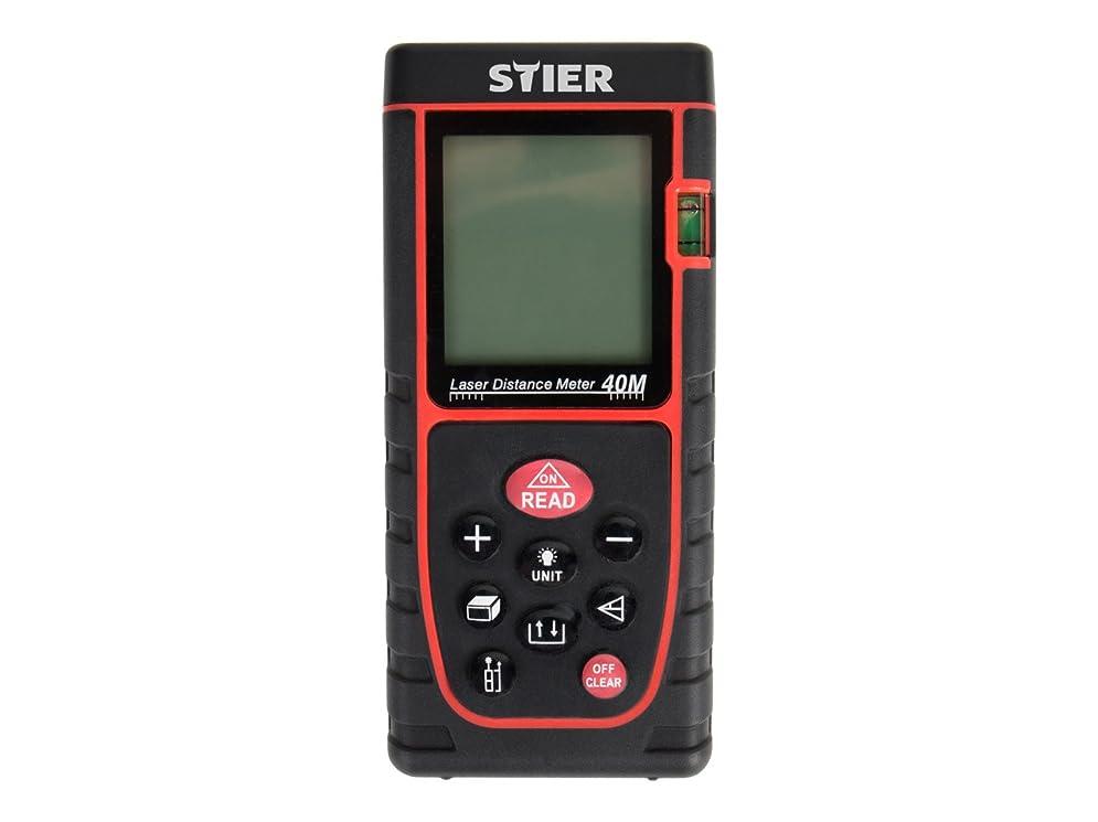 Laser Entfernungsmesser Profi : Stier laser entfernungsmesser profi messbereich 0 03 40 m ±1 5