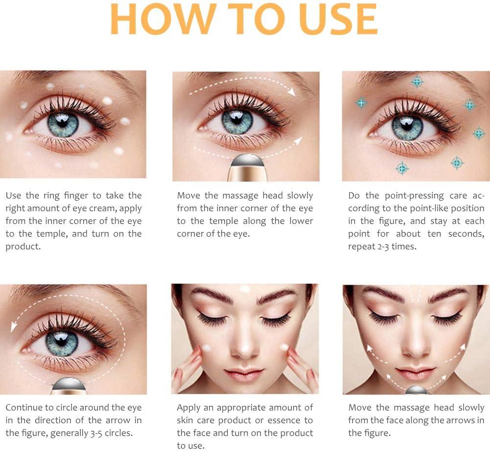 Cómo usar un masajeador de ojos cosmético