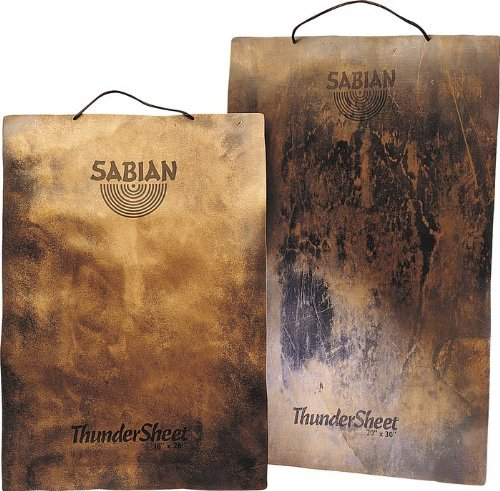 - Sabian 53004 20-Inch Thundersheet Percussion