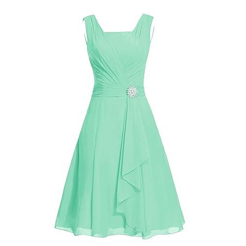 Dresstells reg; A Line Strapless Chiffon Prom Dress with Ruffles Bridesmaid Dress Homecoming Dress