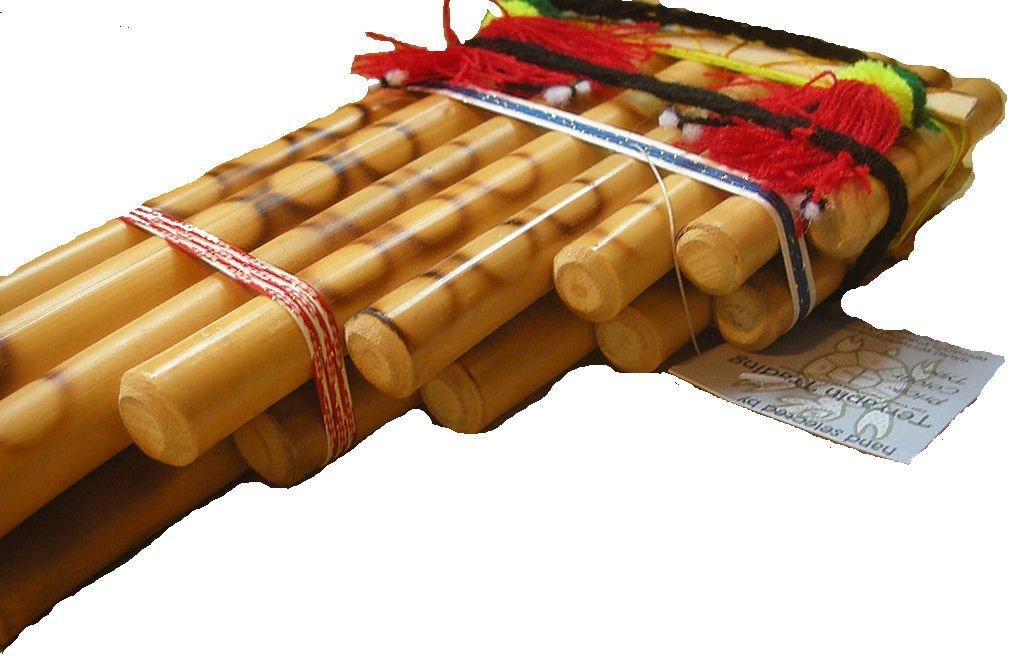Flauta de tubo tradicional feria boliviana 15 de Pan de La Paz: Amazon.es: Instrumentos musicales