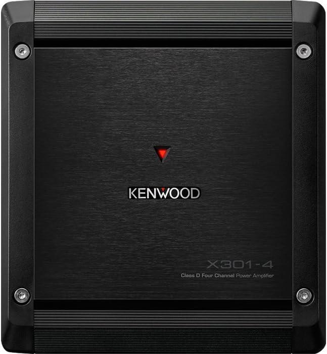 Kenwood eXcelon X301-4 Power Car Amplifier Class D 4-Channel