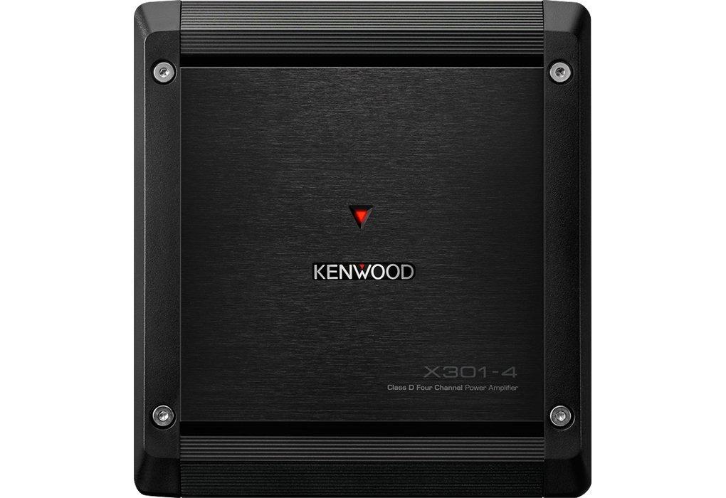 Kenwood X301-4 4.0 Coche Alámbrico Negro - Amplificador de Audio (4.0 Canales, D, 1%, 100 dB, 75 W, 50 W): Kenwood: Amazon.es: Electrónica