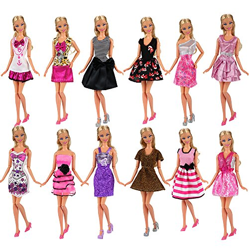 8d0fc67e1ce ... pcs dresses for Barbie and other 11.5-inch dolls (we ll randomly pick  clothes from the pictures)