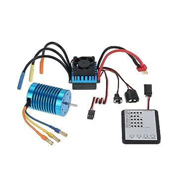 goolrc 3650 3300kv 4p brushless motor 45a brushless esc led rh amazon co uk 4-In-1 Brushless ESC Wiring 4-In-1 Brushless ESC Wiring