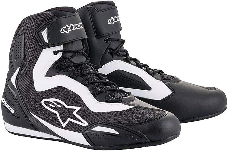 Alpinestars Faster 3 Rideknit Shoes Black White Schwarz Weiß 38 Schuhe Handtaschen