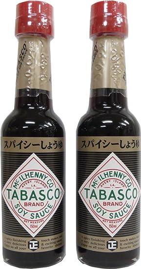 Shodashoyu Tabasco picante salsa de soja 150ml x2 esta