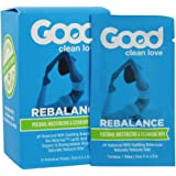 "Good Clean Love Rebalance Personal Moisturizing & Cleansing Wipes (12 Individual Wipes - 8""x5"")"