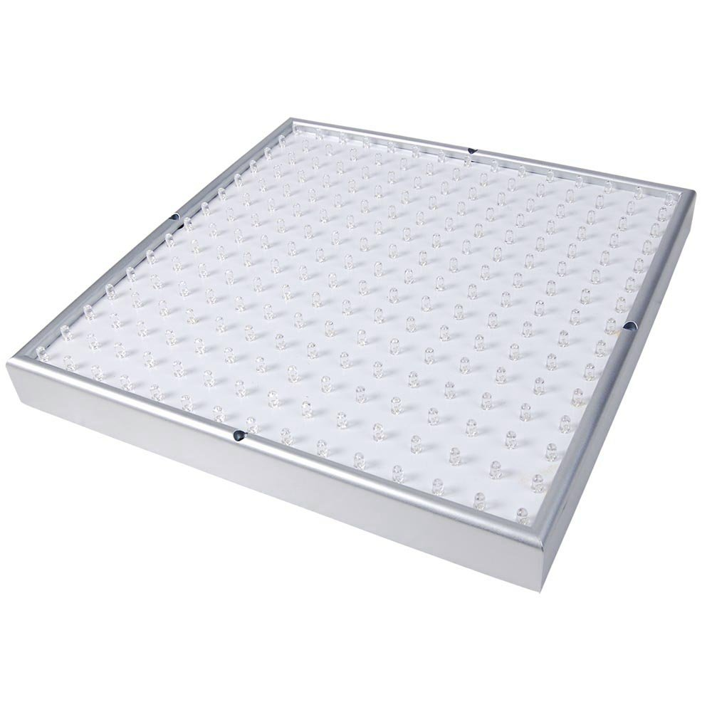 Yescom 225 LED Grow Light Panel 14W Lamp Blue Red Orange White for Indoor Hydroponic Plant Flower Seedling Blooming