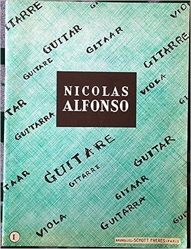 Nicolas Alfonso guitare