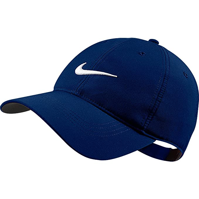 0271a9ad Amazon.com: Nike Tech Swoosh Cap, Navy, One Size: Clothing