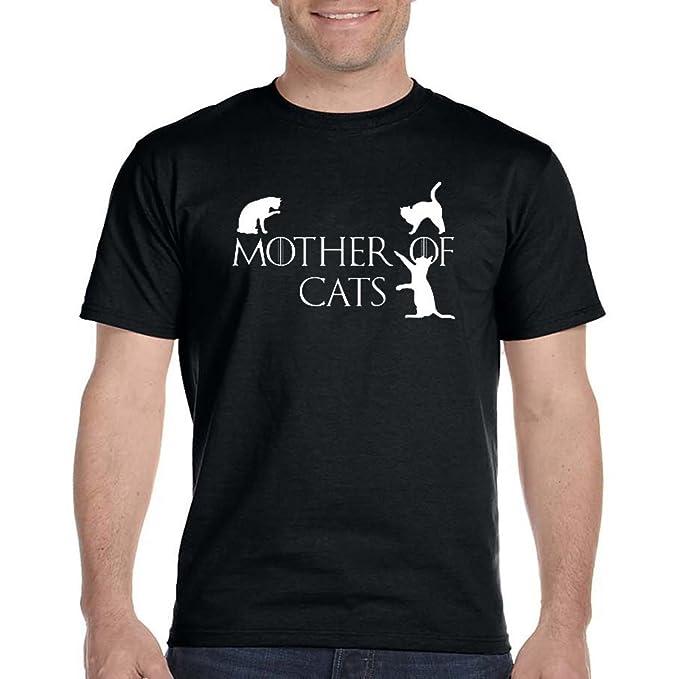 Juego de Tronos Madre de Gatos para Hombre T Shirt: Amazon.es: Ropa y accesorios