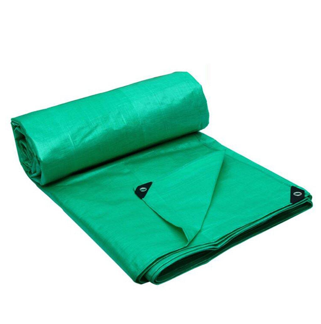 LWHY ヘビーデューティターポリン、アウトドアグリーン防水タールシートポリエチレンプラスチックダブルラミネートカバーキャンプ、釣り、ガーデニングのためのターポリン - 175g /m² (サイズ さいず : 10x6M) 10x6M  B07K1CTBF8