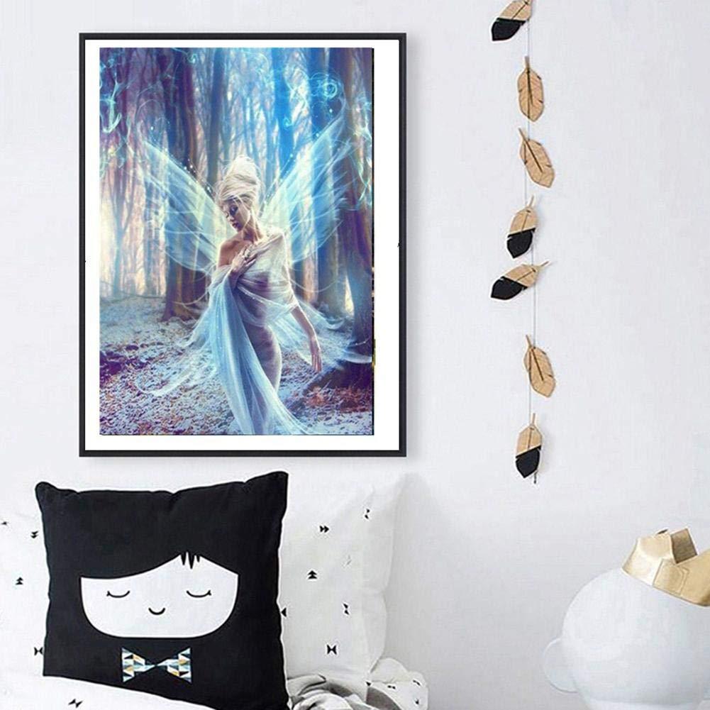 vanpower 5D dise/ño de diamantes de imitaci/ón para decorar la pared con mosaicos 30 x 40 cm//11.81 x 15.75 Beauty /& Bear taladro completo Pintura de diamantes