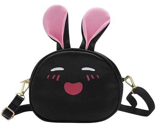 96a62648fae Amazon.com: Little Girls' Cute Rabbit Crossbody Shoulder Bag Small ...