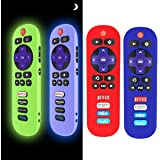 [4 Pack] Silicone Case for TCL Roku TV RC280 Remote, Protective Universal Replacement Lightweight/Shockproof TCL Roku TV Remo