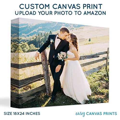 Your Photo on Custom Personalized Canvas Prints (18x24) 1.5