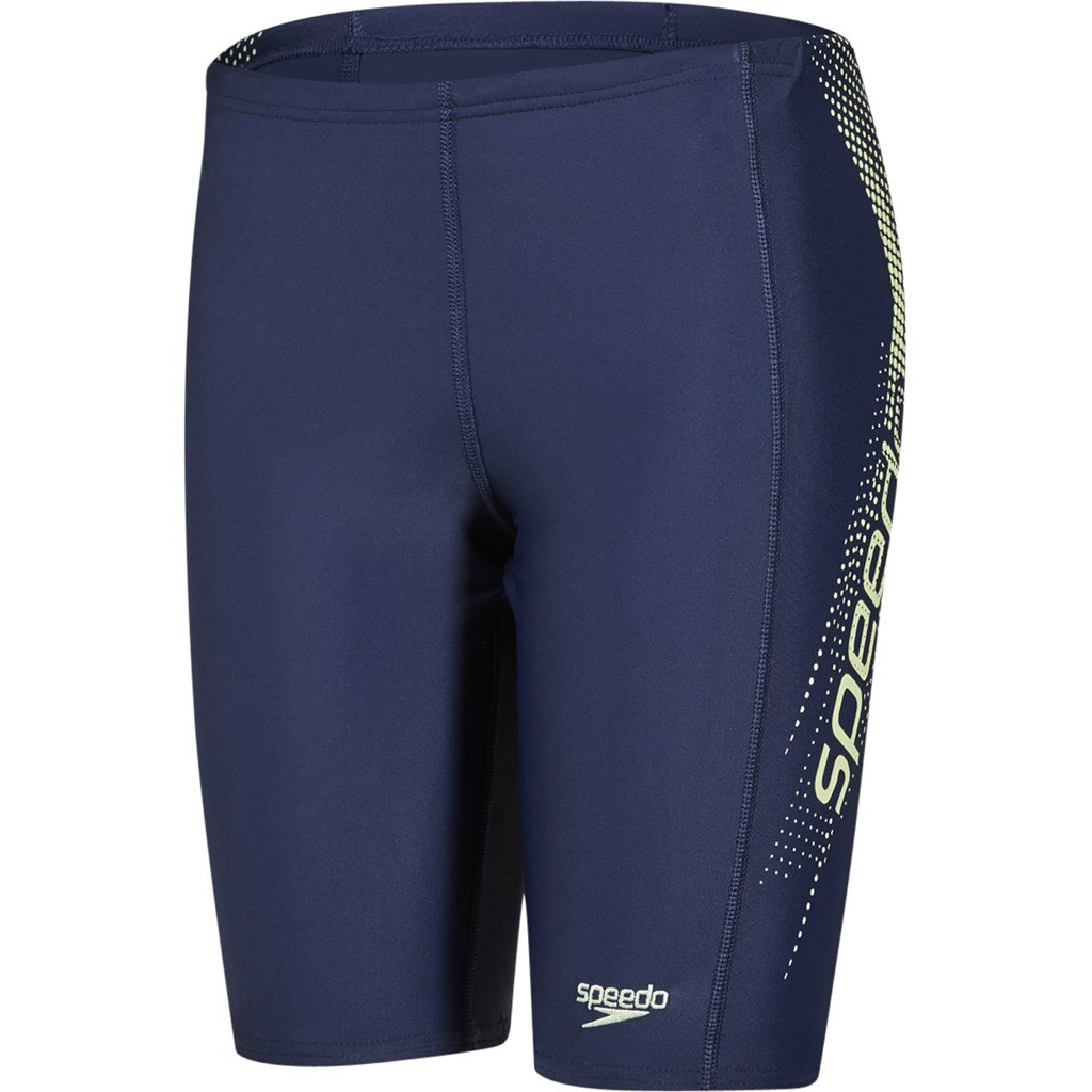 Speedo Boys' Sports Logo Panel Jammer