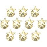 (ジョーダイ) Joudai ゴールド スター パール スクリュー ヘアピン ヘアアクセサリー ヘアクリップ 大人 髪飾り 髪留め SA-330