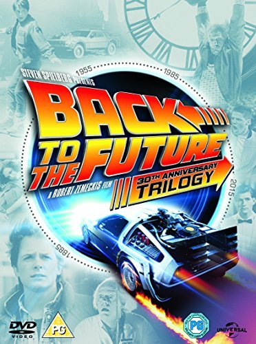 Back to The Future Trilogy DVD 1985 by Michael J. Fox ...