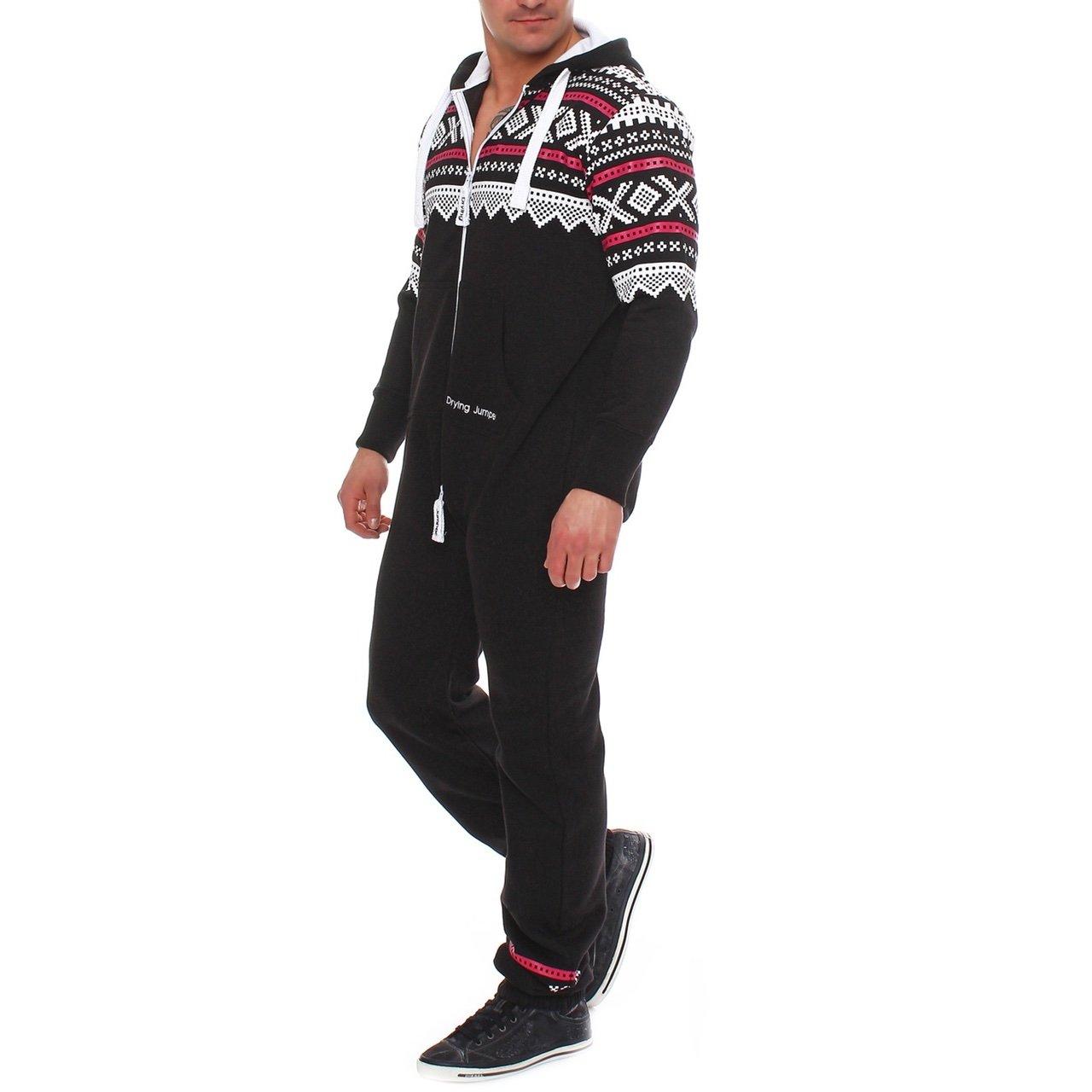 Drying Jumper Herren Jumpsuit Overall Jogging Anzug Trainingsanzug