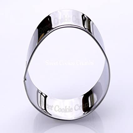 Amazon.com: Easter Egg Cookie Cutter- Stainless Steel: Kitchen & Dining