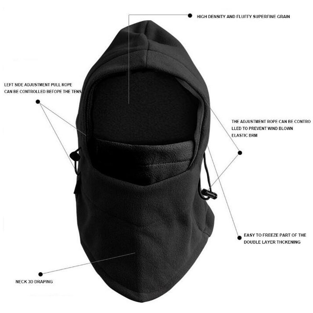 ANGTUO Kids Windproof Cap Neck Warmer Face Mask Kids Ski Balaclava. by ANGTUO (Image #4)