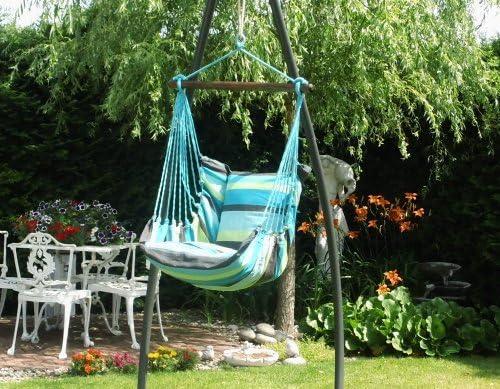 Leguana - Colgar silla abrazo limón madeira: Amazon.es: Jardín