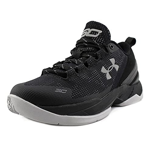 bef97f3ac84 Under Armour BGS Curry 2 Low (Black Black-White) Essential  Amazon ...