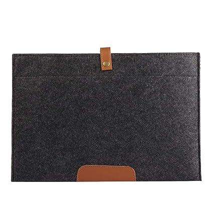 Vdual 13-13.3 Pulgada Funda de Fieltro Blanda para Ordenador Portátil MacBook Pro Retina/
