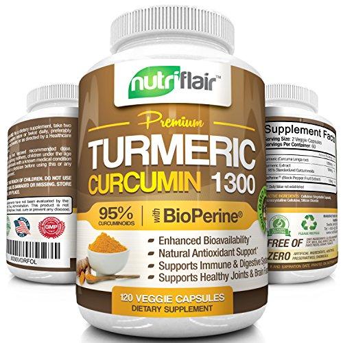 Turmeric Curcumin with BioPerine Black P