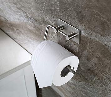 Togu – Rollo de papel higiénico Almacenamiento de sus 304 Acero inoxidable baño cocina dispensador de