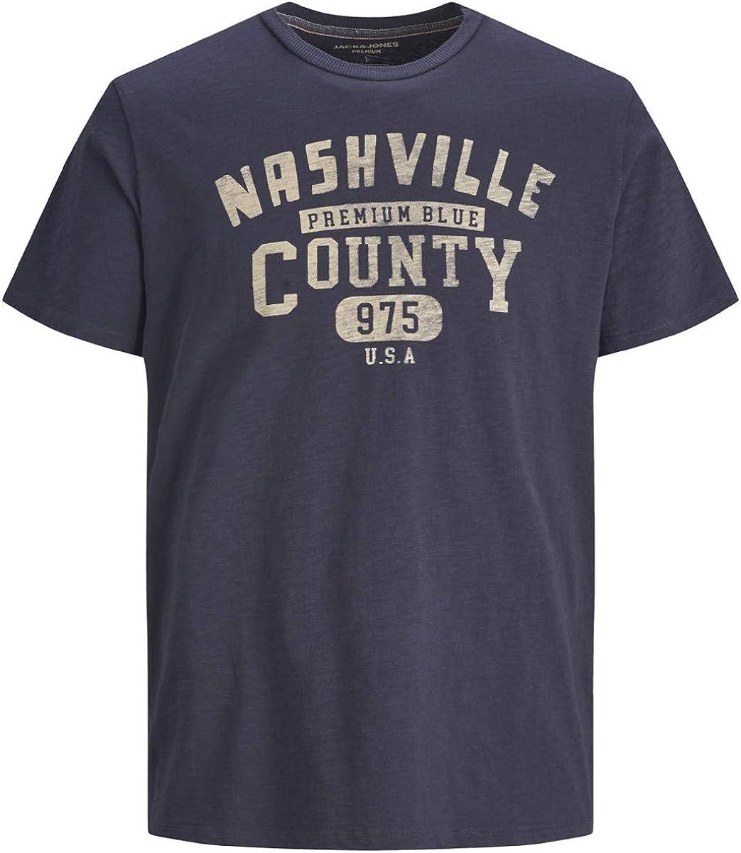 Jack & Jones 12174127 Blubryan - Camiseta para hombre, color azul turquesa L: Amazon.es: Ropa y accesorios