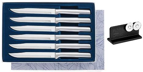 Amazon.com: Rada S06 Plus r119 Juego de cuchillos afilador ...