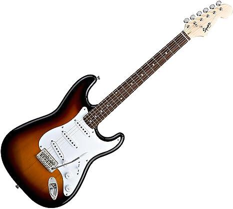 Guitarra eléctrica Fender Squier Stratocaster Bullet, color, Bsb ...
