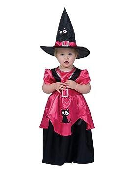 Lujo Piratas - Chica Disfraz Infantil de Bruja zauberin con ...