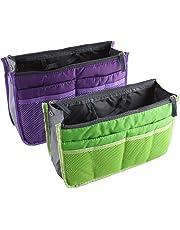 NOVAGO Organiseur Pochette Sac de Rangement intérieur pour Sac à Main ou Sac de Voyage (Divers Coloris Disponibles)
