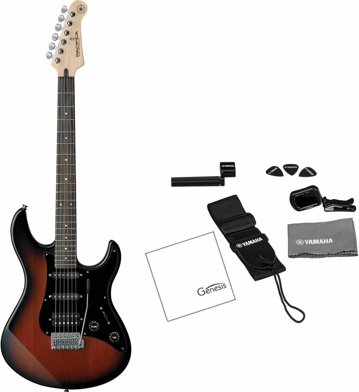 Yamaha PAC012DLX OVS Pacifica - Guitarra eléctrica doble (violín ...