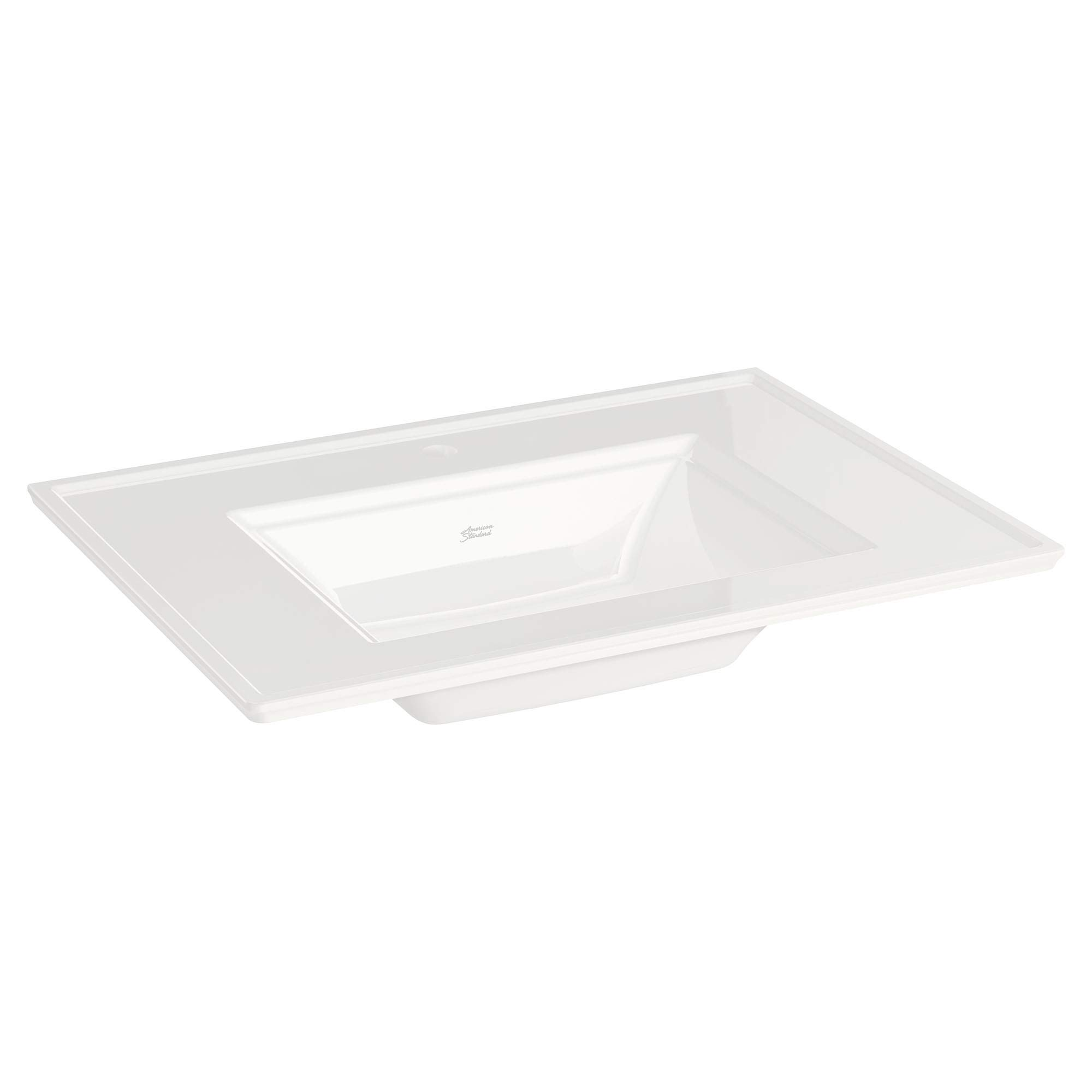 American Standard 0298001.020 Town Square S Vanity Top- Center Hole Only Only, White