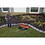 BLACK+DECKER 40V MAX Cordless Lawn Mower, 20-Inch (CM2043C) 13 Two 40V max Lithium ion batteries are included for twice the runtime Mulching, bagging and side discharge of grass clippings gives you 3-in-1 versatility Mow right up to edges and spend less time trimming thanks to the edgemax design