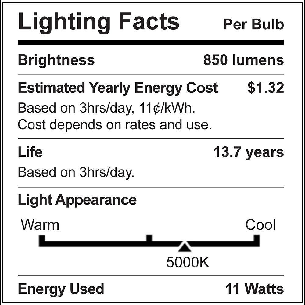 Sunco Lighting 4 Pack PAR30 LED Bulb, Dusk-to-Dawn Photocell Sensor, 11W=75W, 5000K Daylight, 850 LM, Auto On/Off Security Flood Light - UL by Sunco Lighting (Image #3)