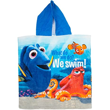 Bolso impermeable para cargar poncho toalla de playa Buscando a Dory Disney Pixar 50cm X 10cm