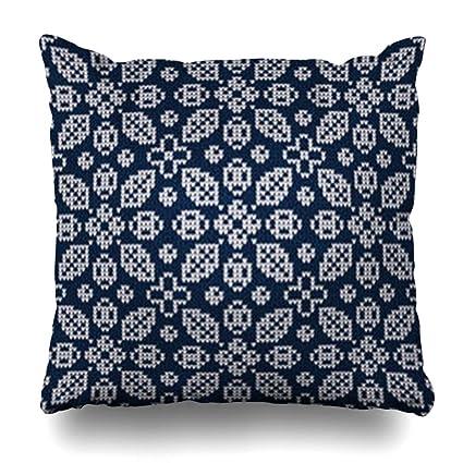Amazon.com: Homeyard Throw Pillow Cover Family Autumn Winter ...